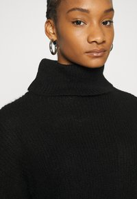Zign - Roll neck- wool blend - Jumper - black - 5