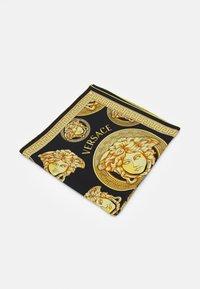 Versace - MEDUSA FOULARD - Foulard - black/gold - 1