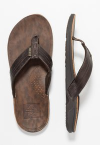 Reef - J-BAY - tåsandaler - dark brown - 1