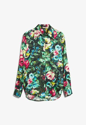 M-LUBI - Button-down blouse - bunt gemischt