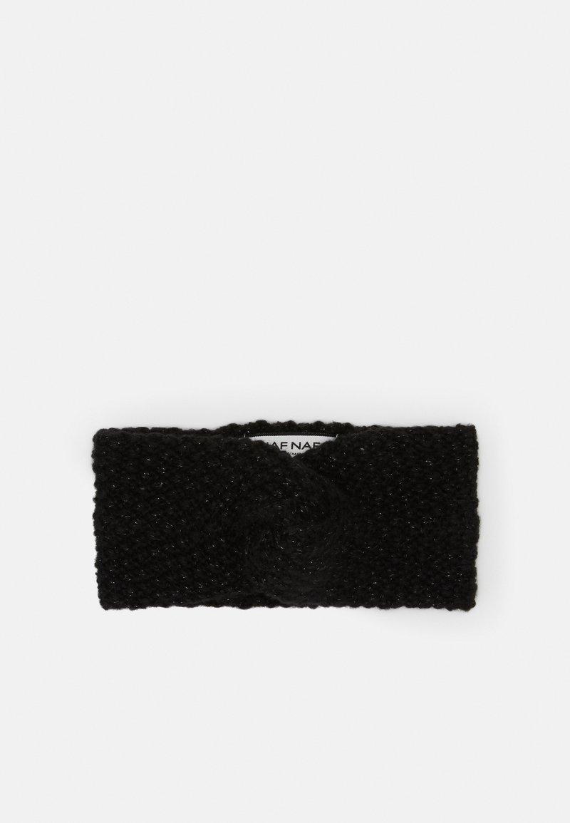 NAF NAF - BOIS DE ROSE - Ear warmers - noir