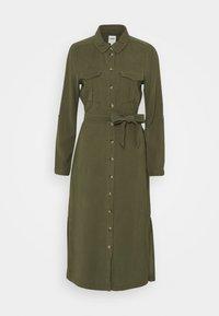 ONLY - ONLNEW ARIS LIFE DRESS  - Košilové šaty - kalamata - 0