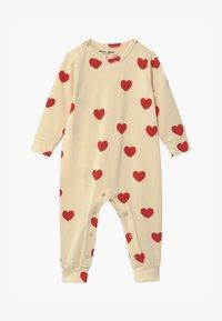 Mini Rodini - BABY HEARTS UNISEX - Overal - offwhite - 0