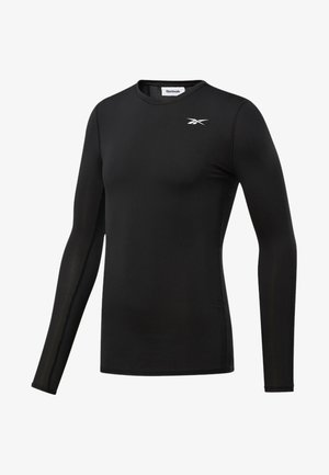 WORKOUT READY COMPRESSION TEE - Long sleeved top - black