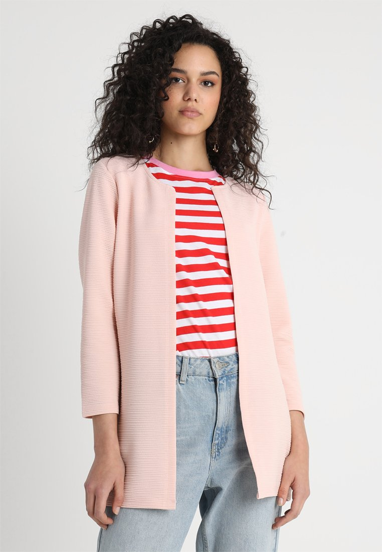 ONLY - ONLLECO LONG  - Cardigan - peach whip
