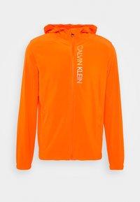 Calvin Klein Performance - PRIDE WINDJACKET - Trainingsvest - danger orange - 3