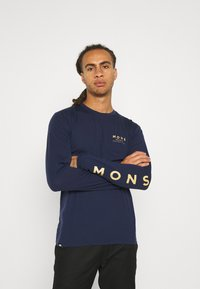 Mons Royale - ICON - Top sdlouhým rukávem - navy - 3