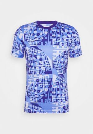 DRY ACADEMY  - T-shirts print - royal pulse/white
