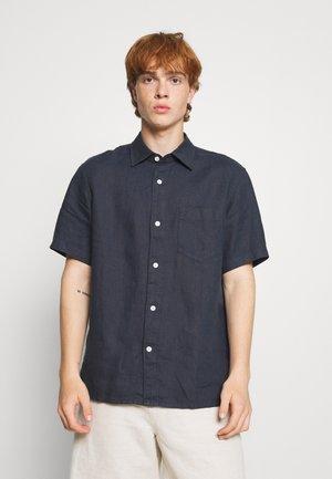 LINEN SHIRT - Marškiniai - blue