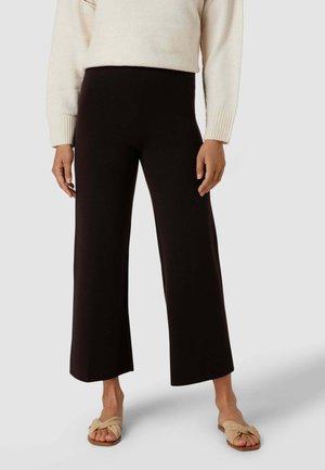 Trousers - dunkelbraun