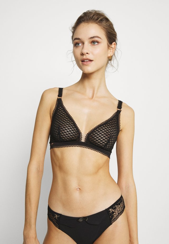 INNOCENCE SANS ARMATURES - Triangle bra - black