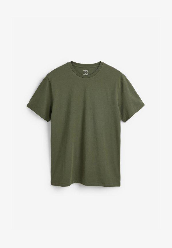 Next T-shirt basic - green/zielony Odzież Męska APBB