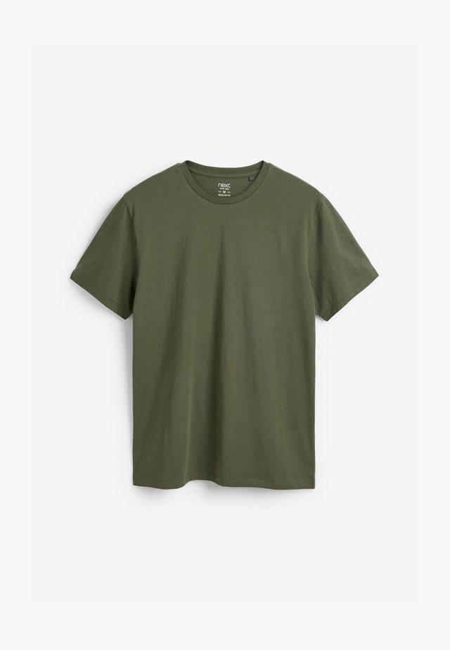 Jednoduché triko - green