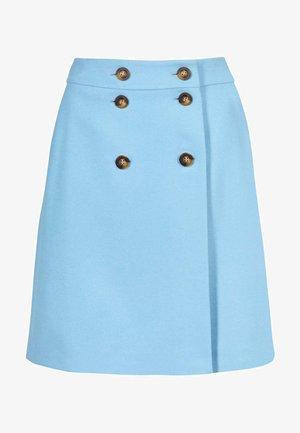 ELOISE - A-line skirt - eisblau