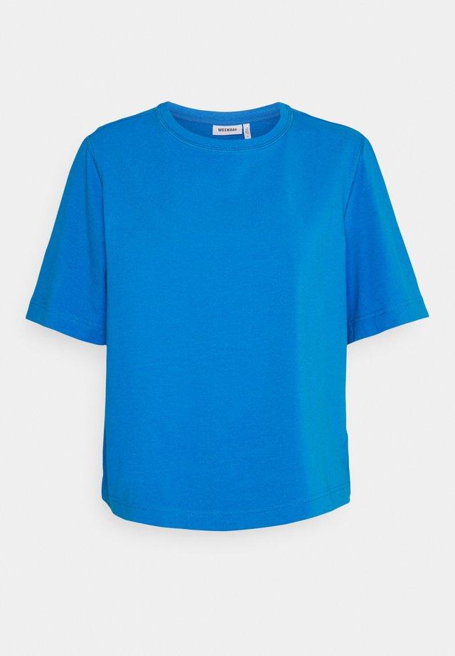 TRISH - T-shirt basic - blue melange