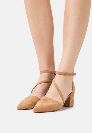 BIADIVIVED STRAP  - Classic heels - camel