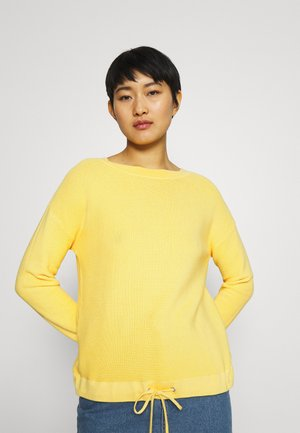 Jumper - yellow