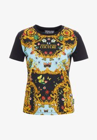 Versace Jeans Couture - Print T-shirt - menta - 5