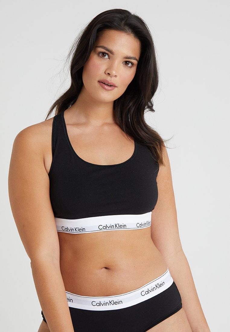 Calvin Klein Underwear - MODERN PLUS UNLINED BRALETTE - Brassière - black