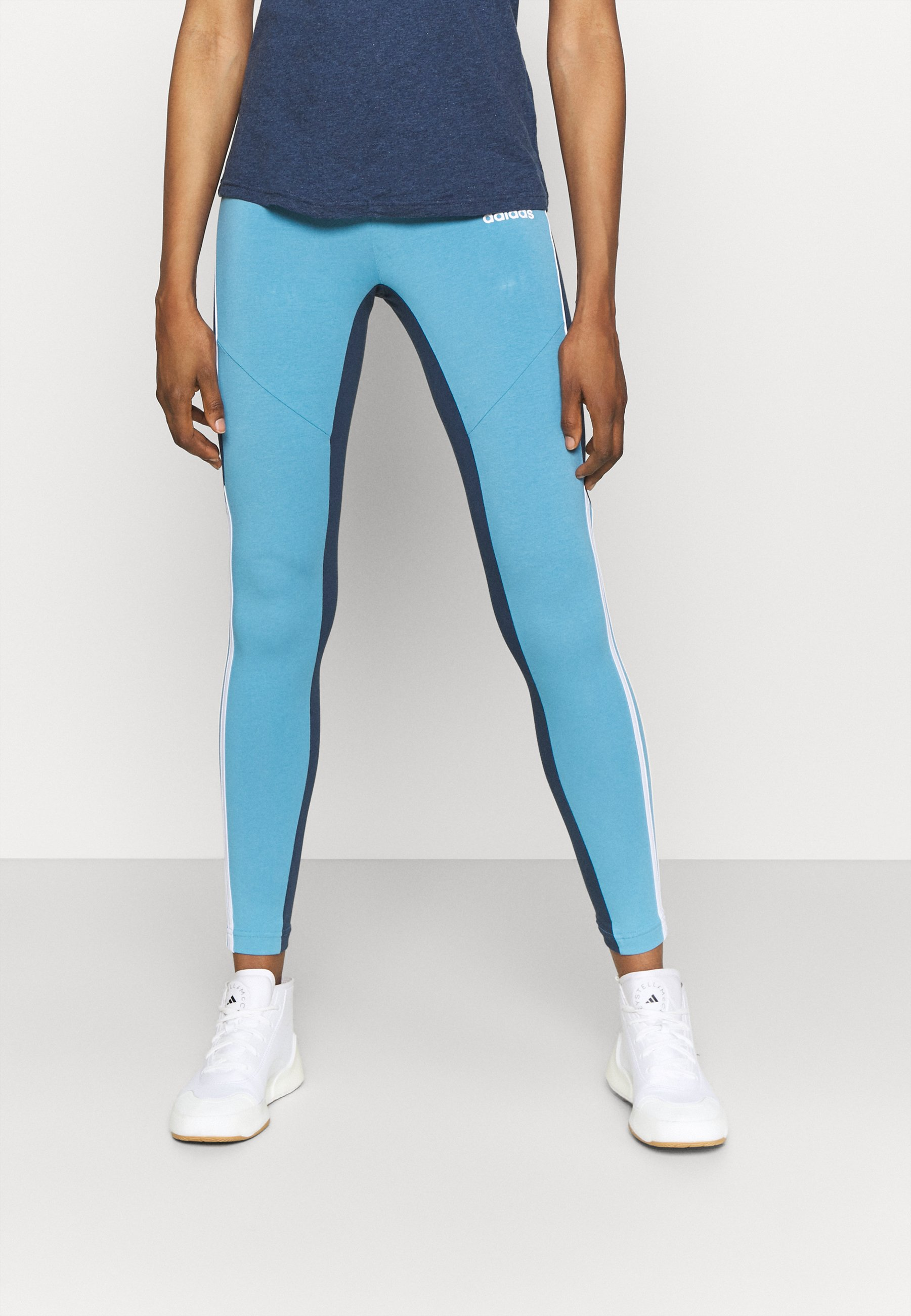 Femme ADIDAS SPORTSWEAR COLORBLOCK LEGGINGS - Collants