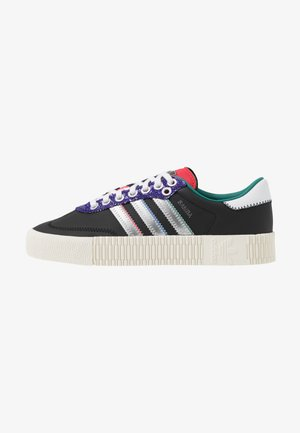 SAMBAROSE  - Sneakers - core black/silver metallic/offwhite