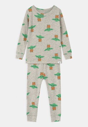 TODDLER MANDOLORIAN UNISEX - Pyjama set - grey heather