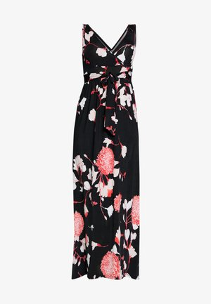 Maxi šaty - black/pink