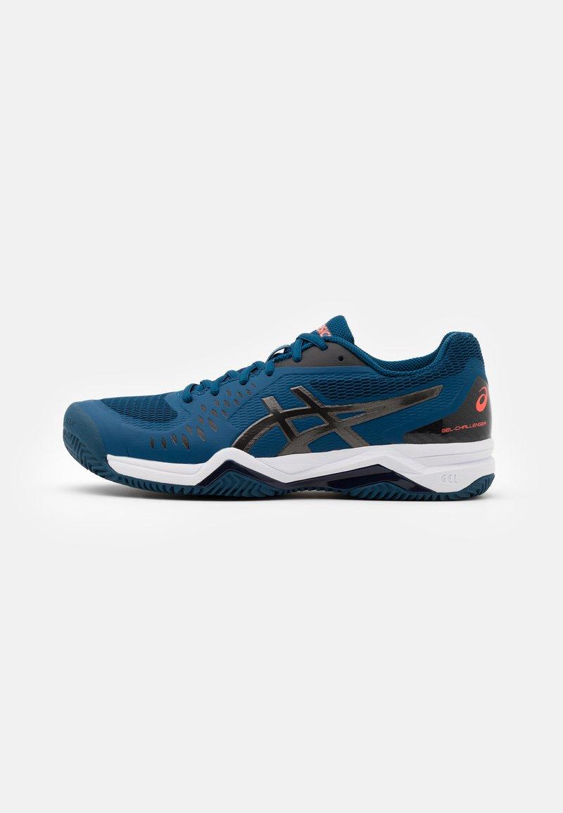 ASICS - GEL-CHALLENGER 12 CLAY - Clay court tennis shoes - mako blue/gunmetal