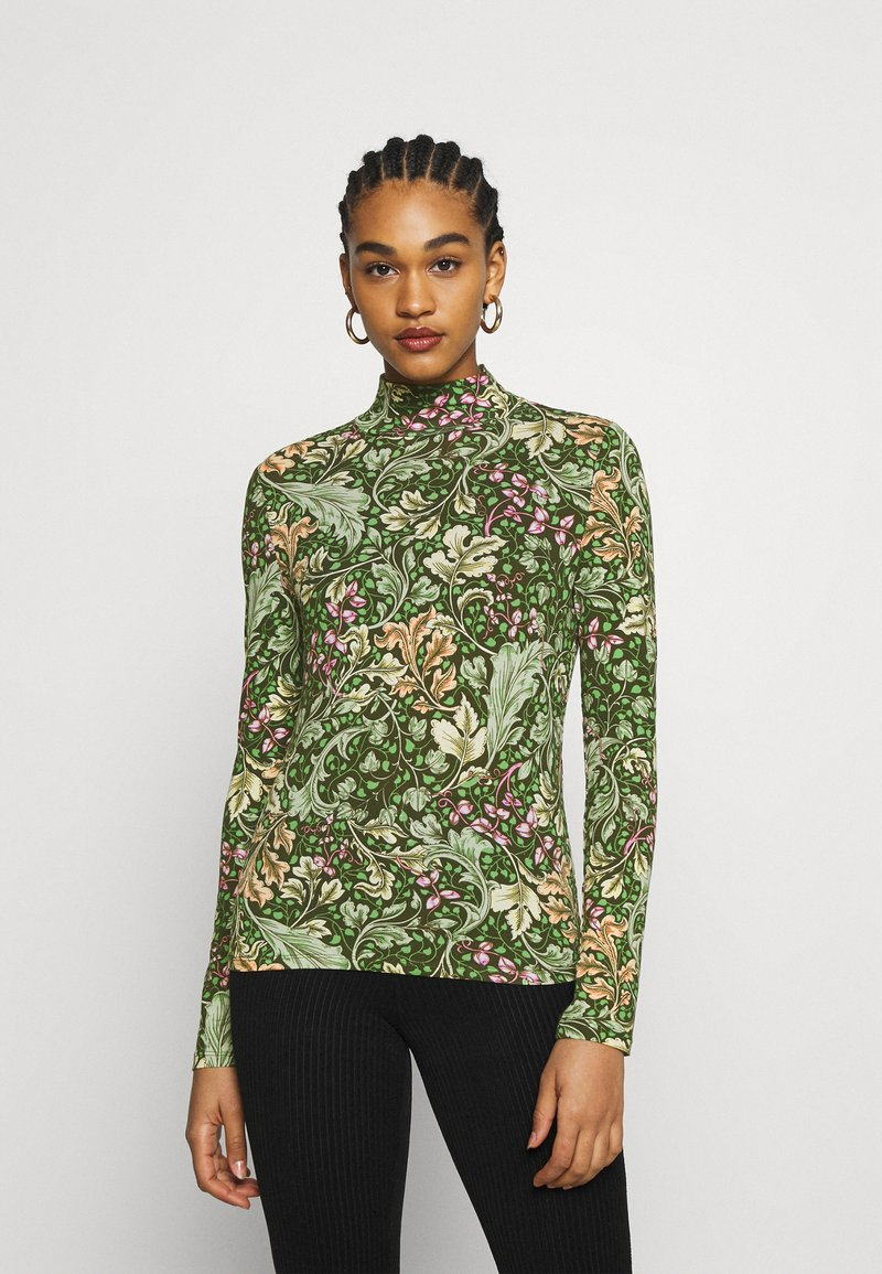 Monki - VANJA - Long sleeved top - green dark unique