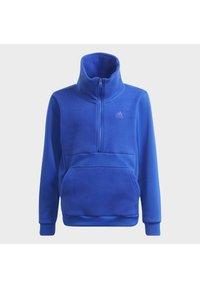 adidas Performance - DESIGNED TO MOVE OBERTEIL - Zip-up sweatshirt - blue - 6