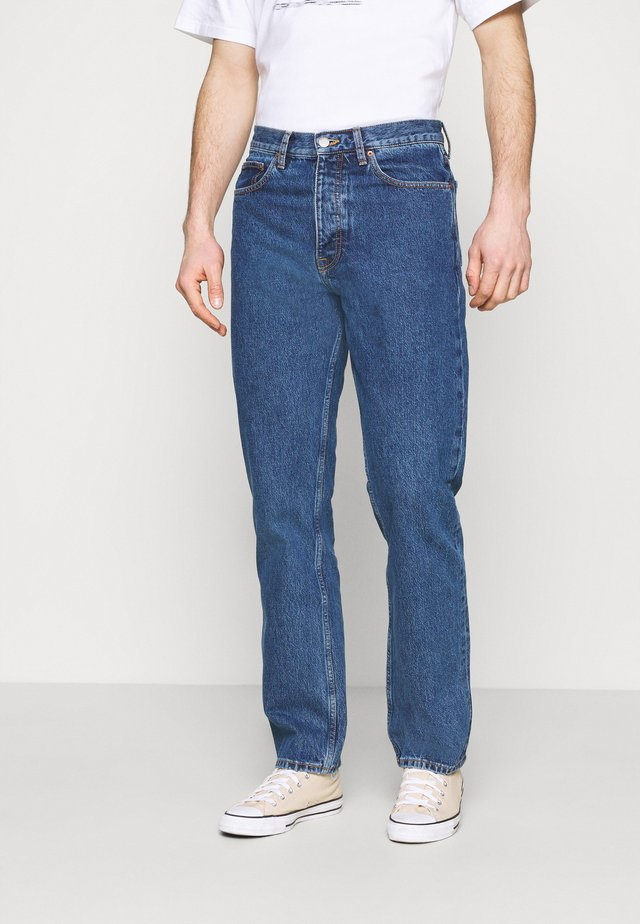 DASH - Jeans a sigaretta - stone cast mid blue