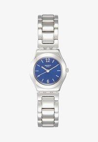 Swatch - LITTLESTEEL - Watch - silver-coloured/blue - 1