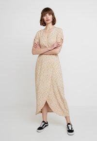 Madewell - MAGDALENA DRESS - Maxi dress - vine/bone - 0