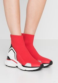 MICHAEL Michael Kors - High-top trainers - bright red - 0