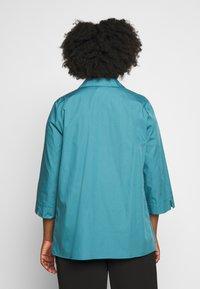 Persona by Marina Rinaldi - BALSA - Button-down blouse - turquoise - 2
