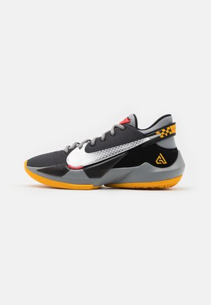 ZOOM FREAK 2 - Basketball shoes - black/metallic silver/particle grey