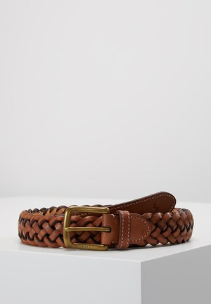 BRAID - Ceinture tressée - saddle