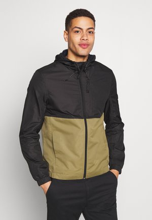 CLEAN SUMMER JACKET - Summer jacket - faded moss green