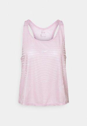 TANK - Camiseta de deporte - iced lilac/white