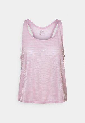 TANK - T-shirt sportiva - iced lilac/white