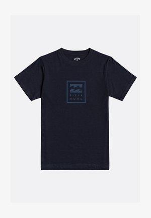 UNITY GARON - Camiseta estampada - navy