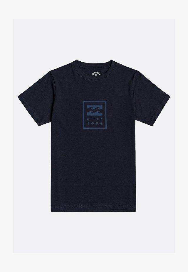 UNITY GARON - Print T-shirt - navy