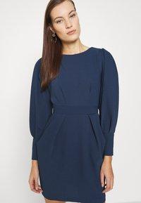 Closet - LONG SLEEVE TULIP DRESS - Shift dress - navy - 3