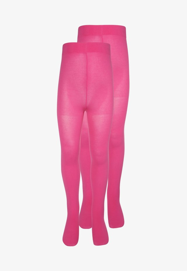 2 PACK - Tights - fuchsia