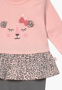 Staccato - SET - Leggings - Trousers - light pink/dark grey - 4
