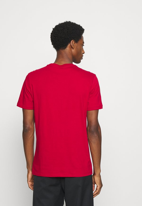 GAP BAS ARCH - T-shirt z nadrukiem - lasalle red/czerwony Odzież Męska GHYN