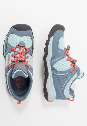 TERRADORA II SPORT - Hiking shoes - flint stone/coral