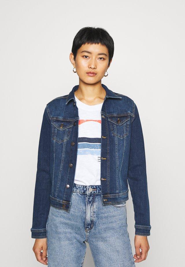 KIMBERLY  - Denim jacket - dark blue denim