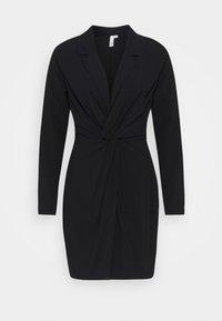 Nly by Nelly - TWIST DRESS - Day dress - black - 0