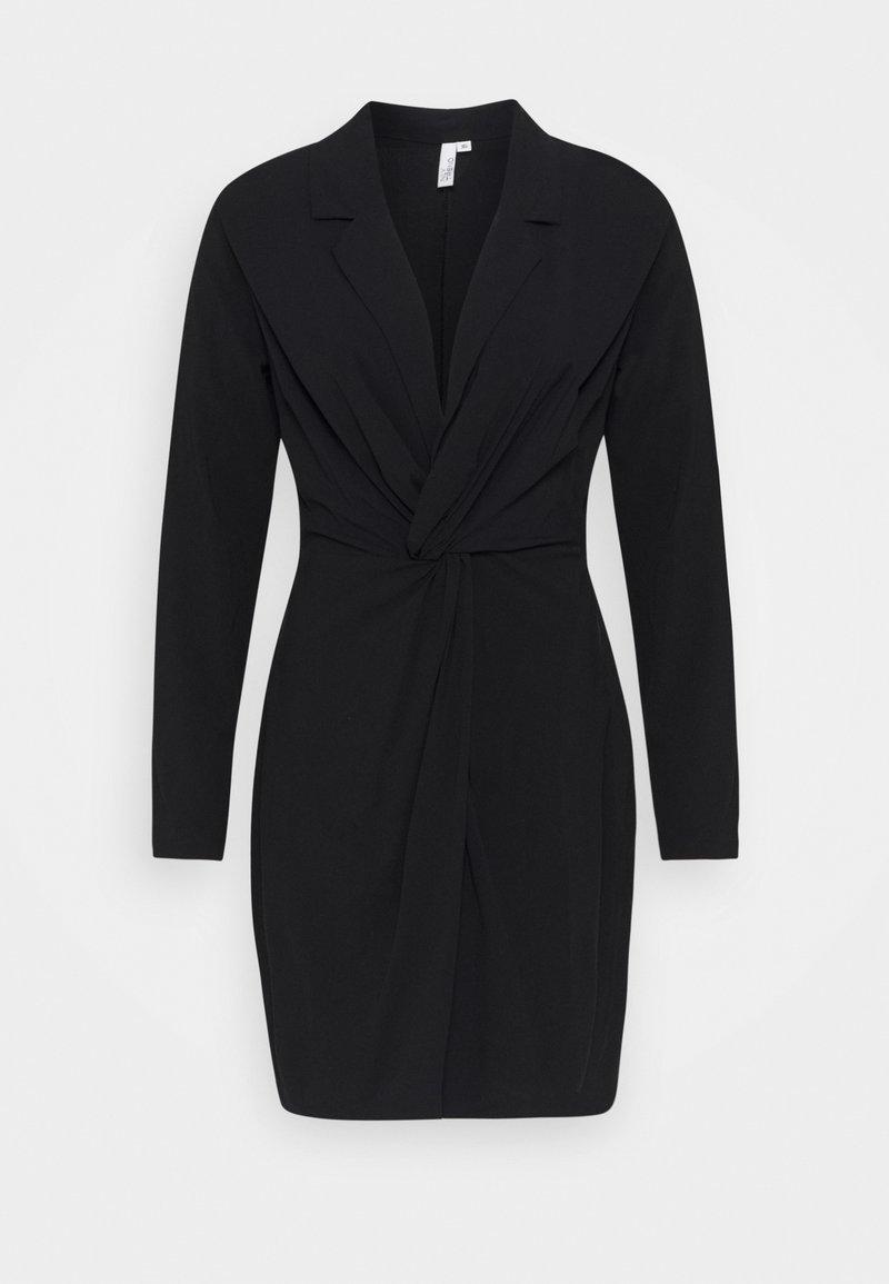 Nly by Nelly - TWIST DRESS - Day dress - black